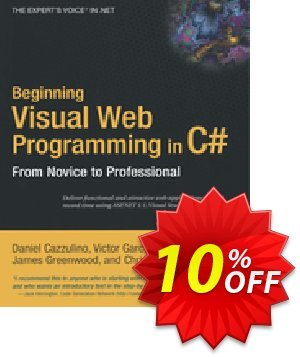 Beginning Visual Web Programming in C# (Cazzulino) 프로모션 코드 Beginning Visual Web Programming in C# (Cazzulino) Deal 프로모션: Beginning Visual Web Programming in C# (Cazzulino) Exclusive Easter Sale offer for iVoicesoft