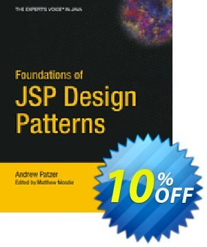 Foundations of JSP Design Patterns (Patzer) discount coupon Foundations of JSP Design Patterns (Patzer) Deal - Foundations of JSP Design Patterns (Patzer) Exclusive Easter Sale offer for iVoicesoft