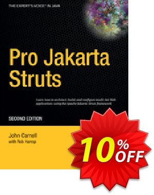 Pro Jakarta Struts (Carnell) 프로모션 코드 Pro Jakarta Struts (Carnell) Deal 프로모션: Pro Jakarta Struts (Carnell) Exclusive Easter Sale offer for iVoicesoft