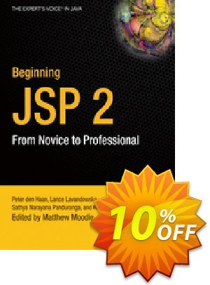 Beginning JSP 2 (Panduranga) discount coupon Beginning JSP 2 (Panduranga) Deal - Beginning JSP 2 (Panduranga) Exclusive Easter Sale offer for iVoicesoft