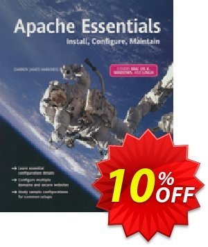 Apache Essentials (James Harkness) 프로모션 코드 Apache Essentials (James Harkness) Deal 프로모션: Apache Essentials (James Harkness) Exclusive Easter Sale offer for iVoicesoft