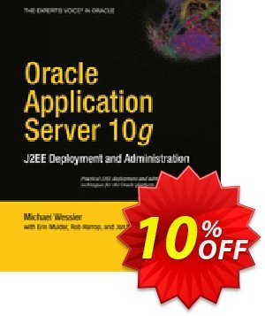 Oracle Application Server 10g (Mulder) discount coupon Oracle Application Server 10g (Mulder) Deal - Oracle Application Server 10g (Mulder) Exclusive Easter Sale offer for iVoicesoft