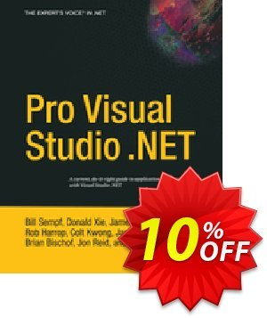Pro Visual Studio .NET (Cheda) discount coupon Pro Visual Studio .NET (Cheda) Deal - Pro Visual Studio .NET (Cheda) Exclusive Easter Sale offer for iVoicesoft