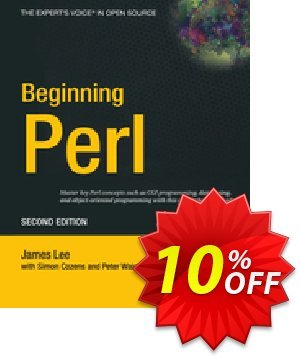 Beginning Perl (Lee) discount coupon Beginning Perl (Lee) Deal - Beginning Perl (Lee) Exclusive Easter Sale offer for iVoicesoft