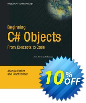 Beginning C# Objects (Barker) discount coupon Beginning C# Objects (Barker) Deal - Beginning C# Objects (Barker) Exclusive Easter Sale offer for iVoicesoft