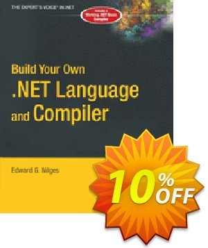Build Your Own .NET Language and Compiler (Nilges) 프로모션 코드 Build Your Own .NET Language and Compiler (Nilges) Deal 프로모션: Build Your Own .NET Language and Compiler (Nilges) Exclusive Easter Sale offer for iVoicesoft