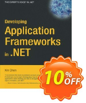 Developing Application Frameworks in .NET (Chen) discount coupon Developing Application Frameworks in .NET (Chen) Deal - Developing Application Frameworks in .NET (Chen) Exclusive Easter Sale offer for iVoicesoft
