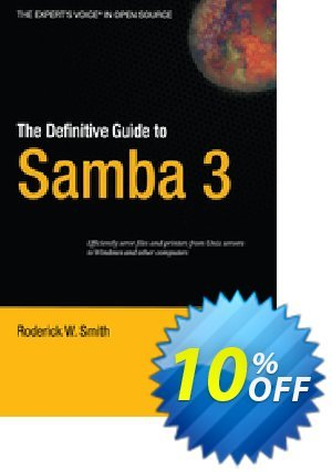 The Definitive Guide to Samba 3 (Smith) discount coupon The Definitive Guide to Samba 3 (Smith) Deal - The Definitive Guide to Samba 3 (Smith) Exclusive Easter Sale offer for iVoicesoft