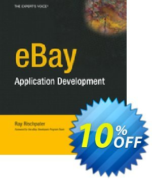 eBay Application Development (Rischpater) discount coupon eBay Application Development (Rischpater) Deal - eBay Application Development (Rischpater) Exclusive Easter Sale offer for iVoicesoft