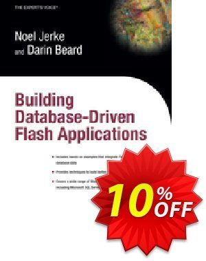 Building Database Driven Flash Applications (Jerke) discount coupon Building Database Driven Flash Applications (Jerke) Deal - Building Database Driven Flash Applications (Jerke) Exclusive Easter Sale offer for iVoicesoft