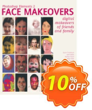 Photoshop Elements 2 Face Makeovers (Freer) discount coupon Photoshop Elements 2 Face Makeovers (Freer) Deal - Photoshop Elements 2 Face Makeovers (Freer) Exclusive Easter Sale offer for iVoicesoft