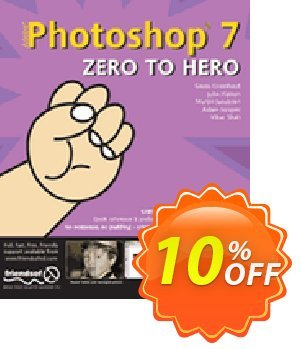 Photoshop 7 Zero to Hero (Hatton) discount coupon Photoshop 7 Zero to Hero (Hatton) Deal - Photoshop 7 Zero to Hero (Hatton) Exclusive Easter Sale offer for iVoicesoft