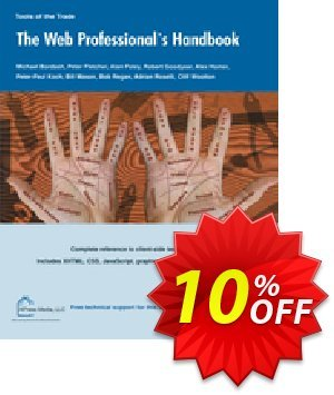 The Web Professional's Handbook (Bordash) discount coupon The Web Professional's Handbook (Bordash) Deal - The Web Professional's Handbook (Bordash) Exclusive Easter Sale offer for iVoicesoft