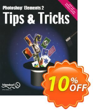 Photoshop Elements 2 Tips and Tricks (Cromhout) discount coupon Photoshop Elements 2 Tips and Tricks (Cromhout) Deal - Photoshop Elements 2 Tips and Tricks (Cromhout) Exclusive Easter Sale offer for iVoicesoft