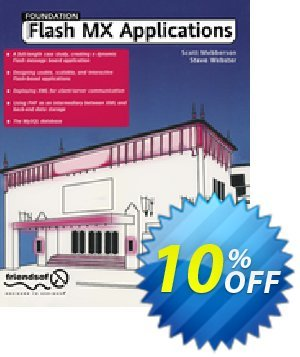 Foundation Flash MX Applications (Webster) discount coupon Foundation Flash MX Applications (Webster) Deal - Foundation Flash MX Applications (Webster) Exclusive Easter Sale offer for iVoicesoft