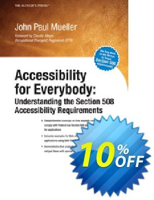 Accessibility for Everybody (Mueller) discount coupon Accessibility for Everybody (Mueller) Deal - Accessibility for Everybody (Mueller) Exclusive Easter Sale offer for iVoicesoft