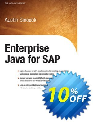 Enterprise Java for SAP (Sincock) discount coupon Enterprise Java for SAP (Sincock) Deal - Enterprise Java for SAP (Sincock) Exclusive Easter Sale offer for iVoicesoft