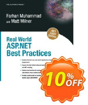 Real World ASP.NET Best Practices (Muhammad) discount coupon Real World ASP.NET Best Practices (Muhammad) Deal - Real World ASP.NET Best Practices (Muhammad) Exclusive Easter Sale offer for iVoicesoft