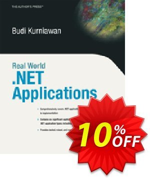 Real World .NET Applications (Kurniawan) discount coupon Real World .NET Applications (Kurniawan) Deal - Real World .NET Applications (Kurniawan) Exclusive Easter Sale offer for iVoicesoft