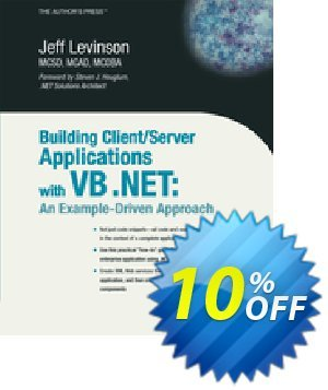 Building Client/Server Applications with VB .NET (Levinson) 프로모션 코드 Building Client/Server Applications with VB .NET (Levinson) Deal 프로모션: Building Client/Server Applications with VB .NET (Levinson) Exclusive Easter Sale offer for iVoicesoft