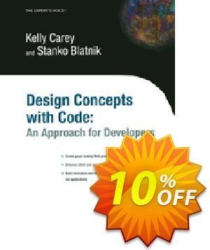 Design Concepts with Code (Blatnik) 프로모션 코드 Design Concepts with Code (Blatnik) Deal 프로모션: Design Concepts with Code (Blatnik) Exclusive Easter Sale offer for iVoicesoft