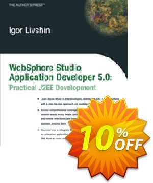 WebSphere Studio Application Developer 5.0 (Livshin) discount coupon WebSphere Studio Application Developer 5.0 (Livshin) Deal - WebSphere Studio Application Developer 5.0 (Livshin) Exclusive Easter Sale offer for iVoicesoft