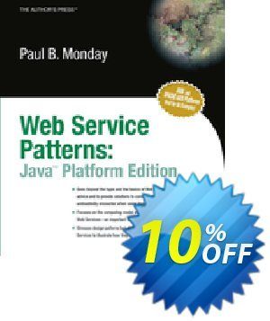 Web Service Patterns (Monday) discount coupon Web Service Patterns (Monday) Deal - Web Service Patterns (Monday) Exclusive Easter Sale offer for iVoicesoft