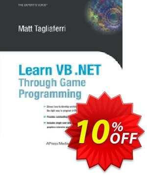 Learn VB .NET Through Game Programming (Tagliaferri) discount coupon Learn VB .NET Through Game Programming (Tagliaferri) Deal - Learn VB .NET Through Game Programming (Tagliaferri) Exclusive Easter Sale offer for iVoicesoft