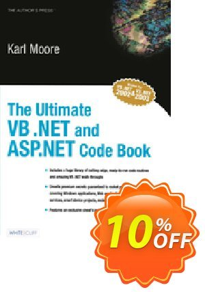 The Ultimate VB .NET and ASP.NET Code Book (Moore) 프로모션 코드 The Ultimate VB .NET and ASP.NET Code Book (Moore) Deal 프로모션: The Ultimate VB .NET and ASP.NET Code Book (Moore) Exclusive Easter Sale offer for iVoicesoft