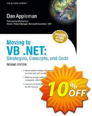 Moving to VB .NET (Appleman) discount coupon Moving to VB .NET (Appleman) Deal - Moving to VB .NET (Appleman) Exclusive Easter Sale offer for iVoicesoft