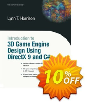 Introduction to 3D Game Engine Design Using DirectX 9 and C# (Harrison) discount coupon Introduction to 3D Game Engine Design Using DirectX 9 and C# (Harrison) Deal - Introduction to 3D Game Engine Design Using DirectX 9 and C# (Harrison) Exclusive Easter Sale offer for iVoicesoft
