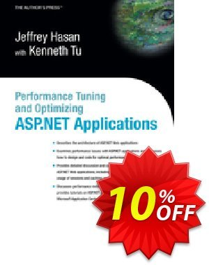 Performance Tuning and Optimizing ASP.NET Applications (Tu) 프로모션 코드 Performance Tuning and Optimizing ASP.NET Applications (Tu) Deal 프로모션: Performance Tuning and Optimizing ASP.NET Applications (Tu) Exclusive Easter Sale offer for iVoicesoft