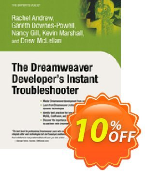 The Dreamweaver Developer's Instant Troubleshooter (Gill) discount coupon The Dreamweaver Developer's Instant Troubleshooter (Gill) Deal - The Dreamweaver Developer's Instant Troubleshooter (Gill) Exclusive Easter Sale offer for iVoicesoft