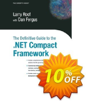 The Definitive Guide to the .NET Compact Framework (Fergus) discount coupon The Definitive Guide to the .NET Compact Framework (Fergus) Deal - The Definitive Guide to the .NET Compact Framework (Fergus) Exclusive Easter Sale offer for iVoicesoft