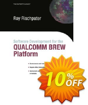 Software Development for the QUALCOMM BREW Platform (Rischpater) 프로모션 코드 Software Development for the QUALCOMM BREW Platform (Rischpater) Deal 프로모션: Software Development for the QUALCOMM BREW Platform (Rischpater) Exclusive Easter Sale offer for iVoicesoft