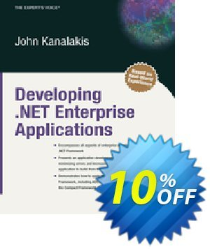 Developing .NET Enterprise Applications (Kanalakis) discount coupon Developing .NET Enterprise Applications (Kanalakis) Deal - Developing .NET Enterprise Applications (Kanalakis) Exclusive Easter Sale offer for iVoicesoft