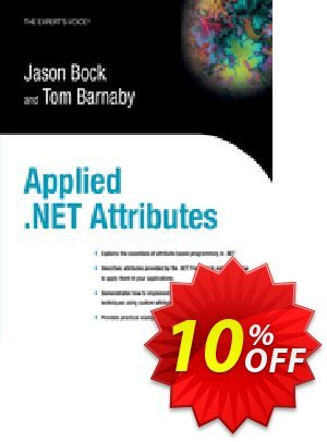 Applied .NET Attributes (Bock) discount coupon Applied .NET Attributes (Bock) Deal - Applied .NET Attributes (Bock) Exclusive Easter Sale offer for iVoicesoft