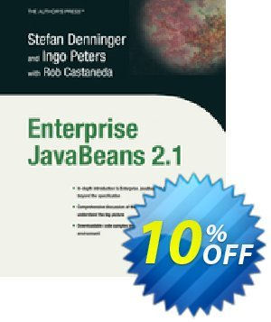Enterprise JavaBeans 2.1 (Castaneda) discount coupon Enterprise JavaBeans 2.1 (Castaneda) Deal - Enterprise JavaBeans 2.1 (Castaneda) Exclusive Easter Sale offer for iVoicesoft