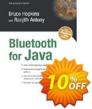 Bluetooth For Java (Antony) discount coupon Bluetooth For Java (Antony) Deal - Bluetooth For Java (Antony) Exclusive Easter Sale offer for iVoicesoft