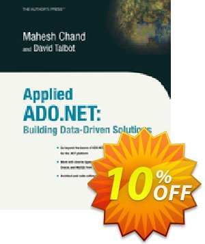 Applied ADO.NET (Talbot) discount coupon Applied ADO.NET (Talbot) Deal - Applied ADO.NET (Talbot) Exclusive Easter Sale offer for iVoicesoft