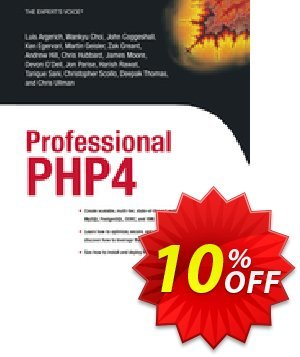 Professional PHP4 (Argerich) discount coupon Professional PHP4 (Argerich) Deal - Professional PHP4 (Argerich) Exclusive Easter Sale offer for iVoicesoft