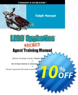 LEGO Spybotics Secret Agent Training Manual (Hempel) 프로모션 코드 LEGO Spybotics Secret Agent Training Manual (Hempel) Deal 프로모션: LEGO Spybotics Secret Agent Training Manual (Hempel) Exclusive Easter Sale offer for iVoicesoft