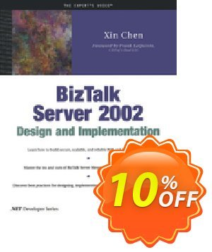 BizTalk Server 2002 Design and Implementation (Chen) discount coupon BizTalk Server 2002 Design and Implementation (Chen) Deal - BizTalk Server 2002 Design and Implementation (Chen) Exclusive Easter Sale offer for iVoicesoft