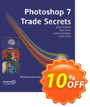 Photoshop 7 Trade Secrets (Smith) Coupon, discount Photoshop 7 Trade Secrets (Smith) Deal. Promotion: Photoshop 7 Trade Secrets (Smith) Exclusive Easter Sale offer for iVoicesoft