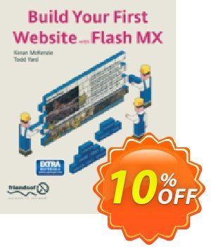 Build Your First Website with Flash MX (McKenzie) Coupon, discount Build Your First Website with Flash MX (McKenzie) Deal. Promotion: Build Your First Website with Flash MX (McKenzie) Exclusive Easter Sale offer for iVoicesoft