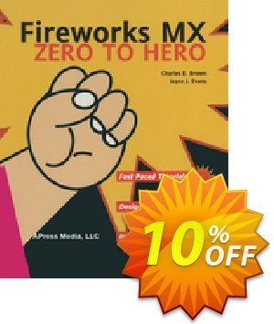 Fireworks MX Zero to Hero (Brown) 프로모션 코드 Fireworks MX Zero to Hero (Brown) Deal 프로모션: Fireworks MX Zero to Hero (Brown) Exclusive Easter Sale offer for iVoicesoft