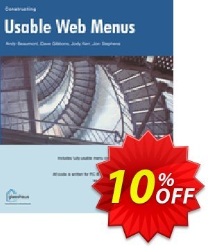 Constructing Usable Web Menus (Beaumont) 優惠券,折扣碼 Constructing Usable Web Menus (Beaumont) Deal,促銷代碼: Constructing Usable Web Menus (Beaumont) Exclusive Easter Sale offer for iVoicesoft
