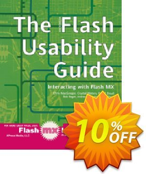 The Flash Usability Guide (Kirkpatrick) 프로모션 코드 The Flash Usability Guide (Kirkpatrick) Deal 프로모션: The Flash Usability Guide (Kirkpatrick) Exclusive Easter Sale offer for iVoicesoft