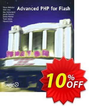 Advanced PHP for Flash (Webster) discount coupon Advanced PHP for Flash (Webster) Deal - Advanced PHP for Flash (Webster) Exclusive Easter Sale offer for iVoicesoft