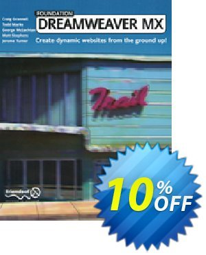 Foundation Dreamweaver MX (Grannell) discount coupon Foundation Dreamweaver MX (Grannell) Deal - Foundation Dreamweaver MX (Grannell) Exclusive Easter Sale offer for iVoicesoft